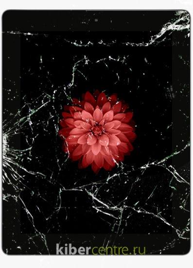 Разбитый iPad 3 | KiberCentre