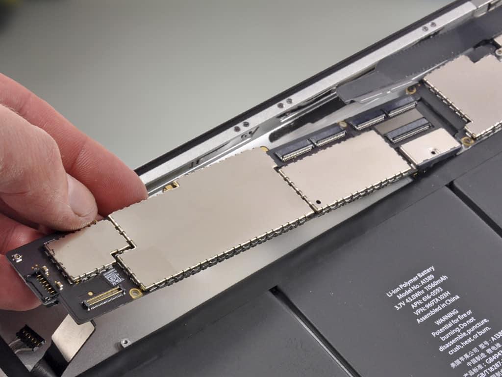 Замена детали iPad 4 | KiberCentre