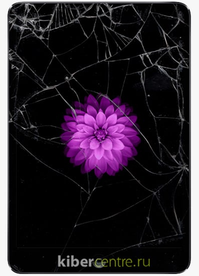 Разбитый iPad Mini