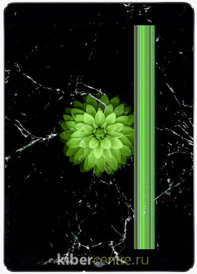 Разбитый iPad Air | KiberCentre