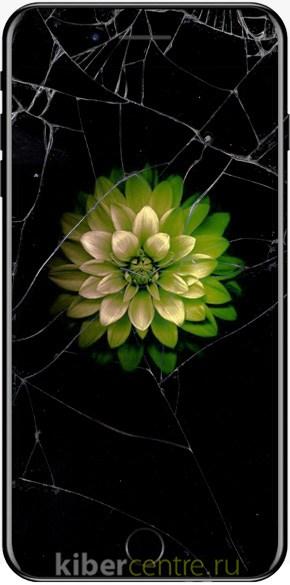 Треснутое стекло на iPhone 7 Plus