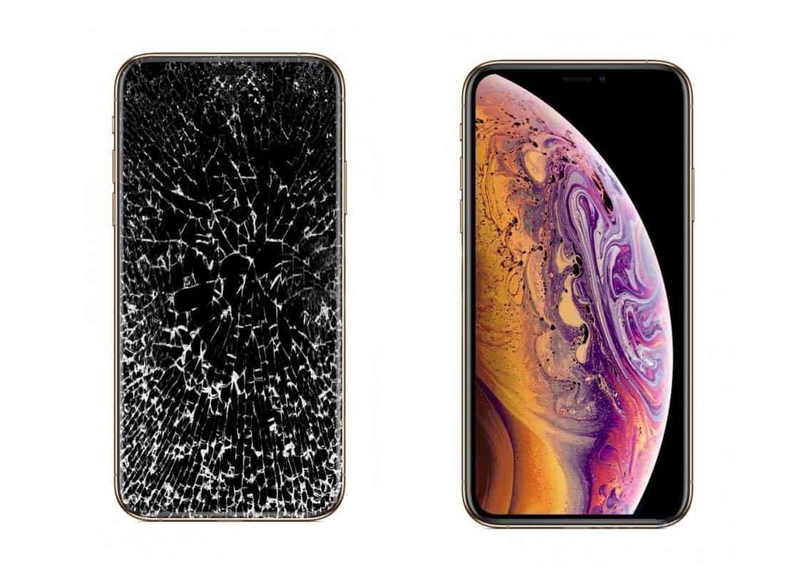 iPhone до и после