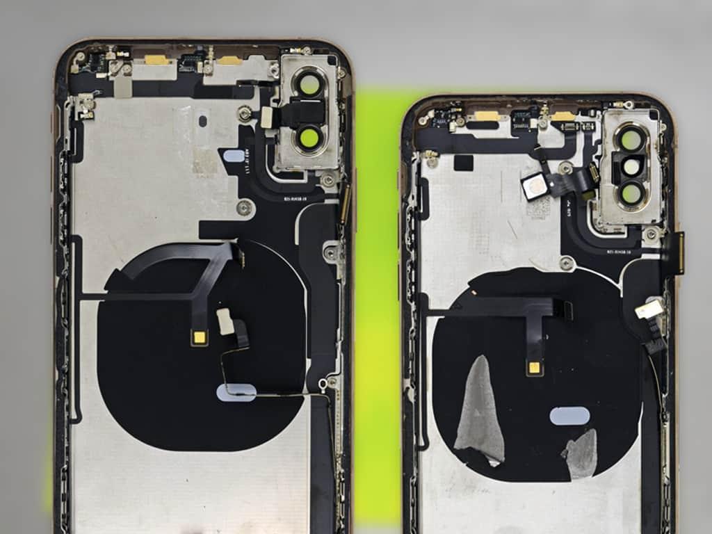 Разобранные iPhone