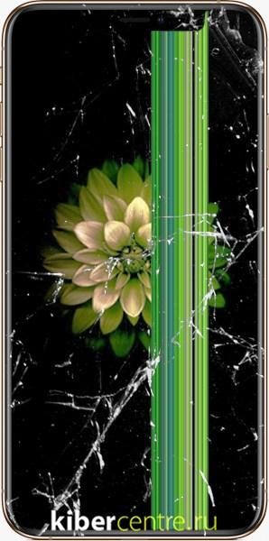 Треснутый дисплей на iPhone