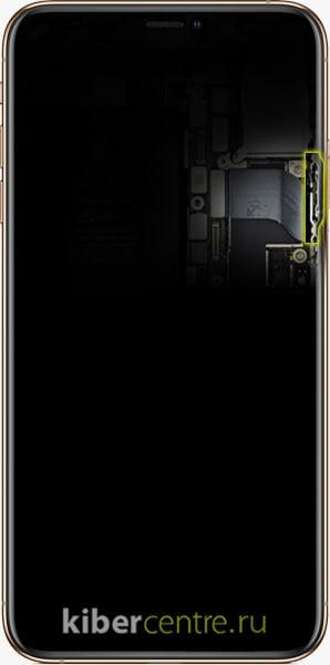 Замена кнопки блокировки iPhone