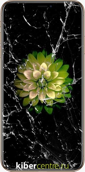 Треснутое стекло iPhone