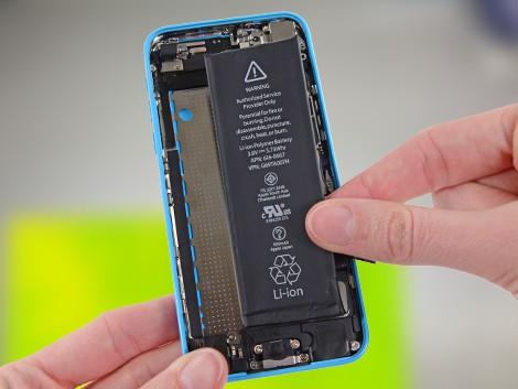 Установка новой батарейки iPhone 5С | KiberCentre