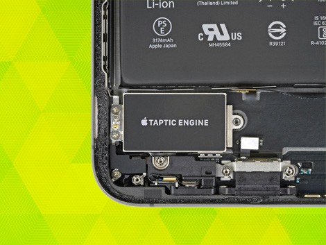 Замена вибромотора iPhone | KiberCentre.ru