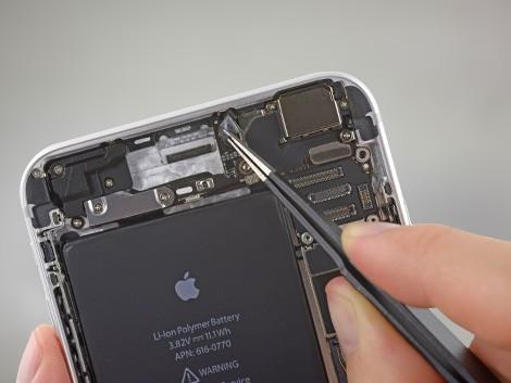 Демонтаж камеры с iPhone 6 Plus | KiberCentre