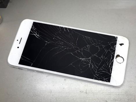 Разбитый iPhone 6 Plus   KiberCentre.ru
