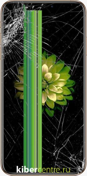 Треснутый дисплей и стекло iPhone