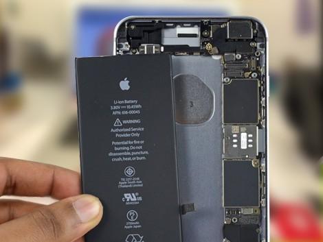 Установка нового аккумулятора iPhone 6s Plus
