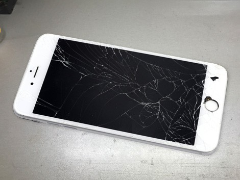 Разбитый iPhone 6 Plus | KiberCentre.ru