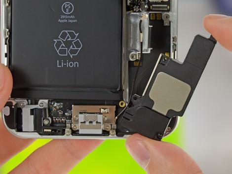 Удаление старого динамика на iPhone 6 Plus