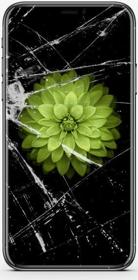 Разбитый Phone X
