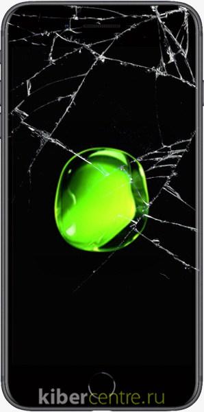Треснутый экран iPhone 8 Plus
