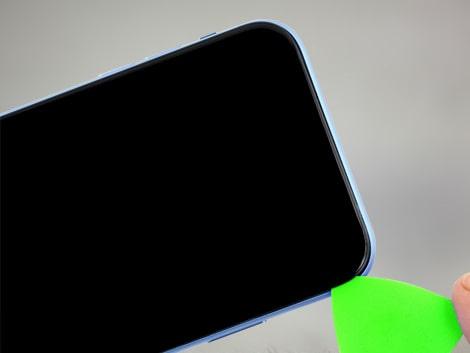 Вскрытие стекла на iPhone XR