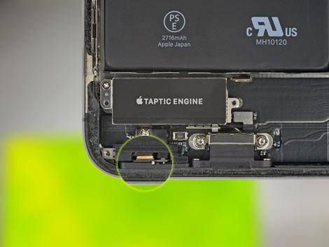 Микрофон iPhone X