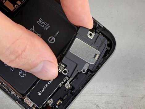 Демонтаж динамика iPhone XS   KiberCentre.ru