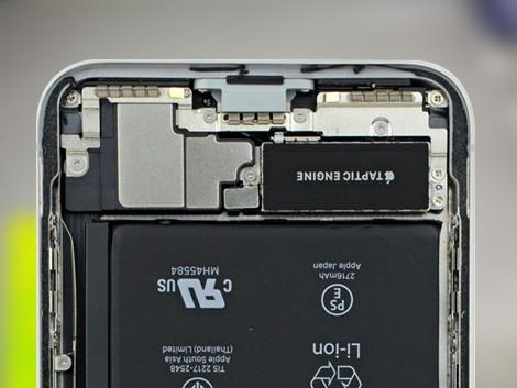 Разобранная задняя панель на iPhone X | KiberCentre.ru