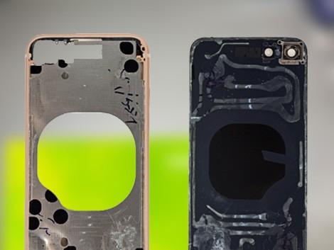 Заднее стекло iPhone 8