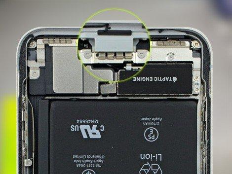 Разъём зарядки iPhone X