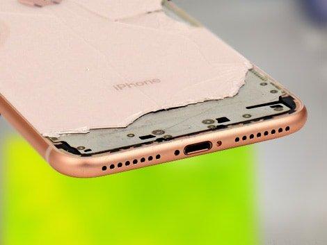 Разбитый корпус iPhone 8 Plus