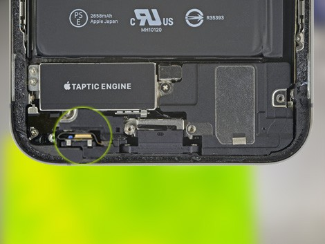 Модуль микрофона iPhone XS | KiberCentre.ru