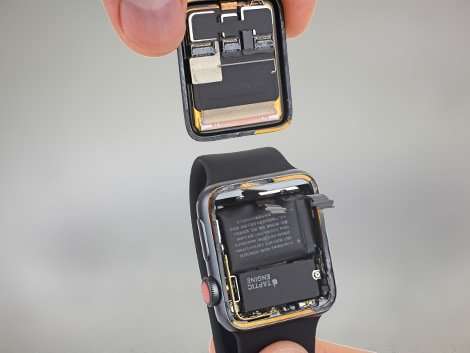 Замена экрана Apple Watch 3