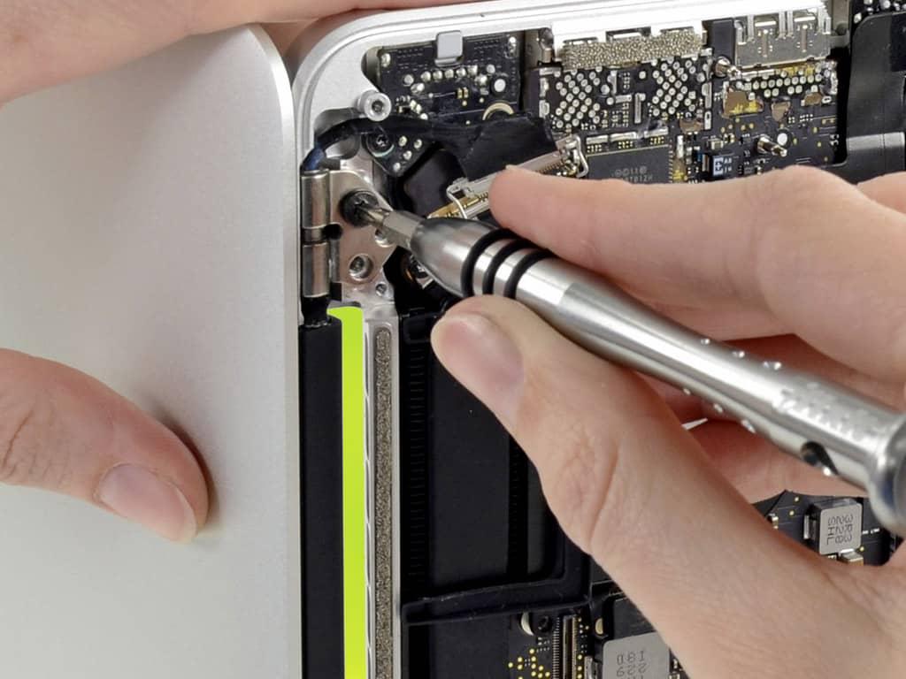 Замена матрицы MacBook