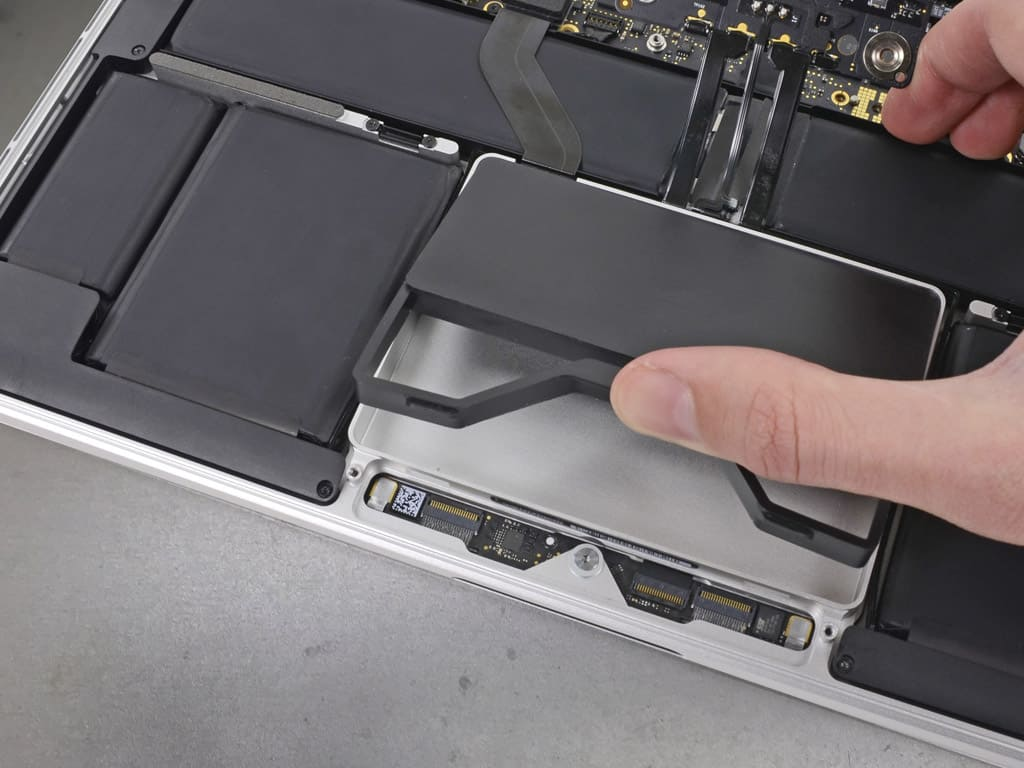 Замена SSD MacBook