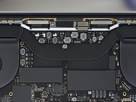 Замена термопасты MacBook