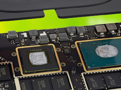 Термопаста MacBook Pro