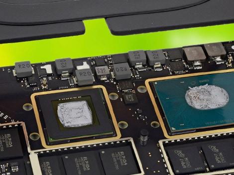 Замена термопасты MacBook Air