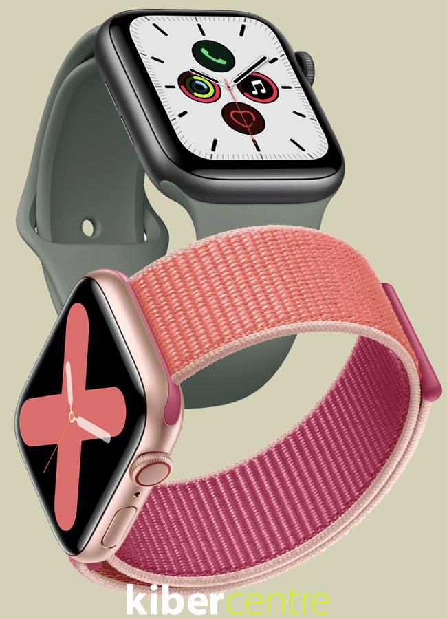 Две новых модели Apple Watch 5