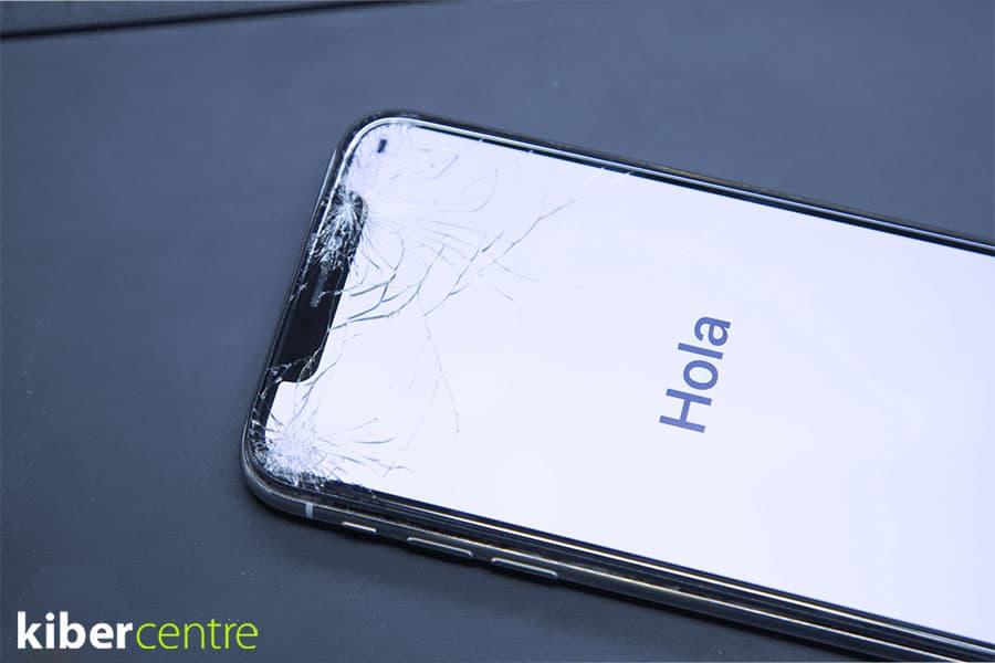 Треснуло стекло на айфон 11