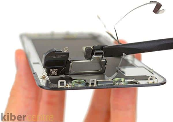 замена дисплейного модуля вместо стекла