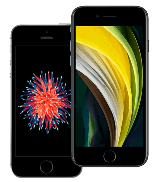 iPhone se и iPhone SE 2020