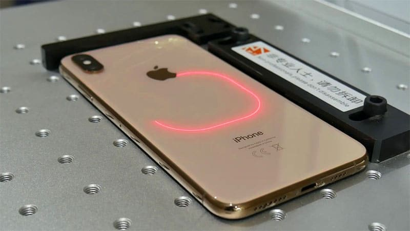 Замена стекла iPhone 12 лазером