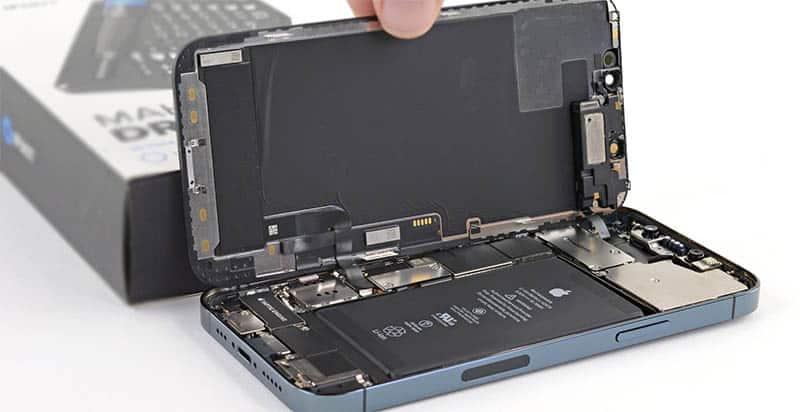 Замена камеры iPhone 12 Pro